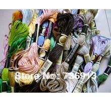 Wybierz własne kolory 3576 sztuk ścieg krzyżowy nici nici/przędza do haftu nici nici