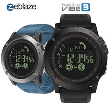 Zeblaze VIBE 3 Flagship Rugged Smart Watch Men 33-month Standby Time 24h Monitoring Smartwatch 2019 For IOS And Android
