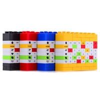 Novelty Bricks DIY Perpetual Puzzle Birthday Calendar 4 Colors For Creative Christmas New Year Birthday Gift