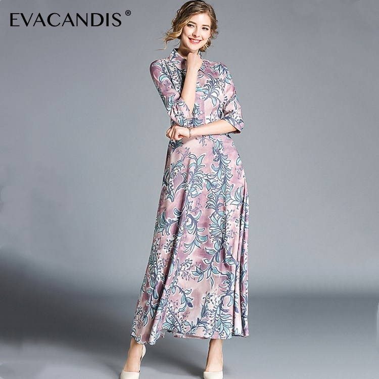 038ec98c13a0f Buy floral maxi dress korean and get free shipping on AliExpress.com