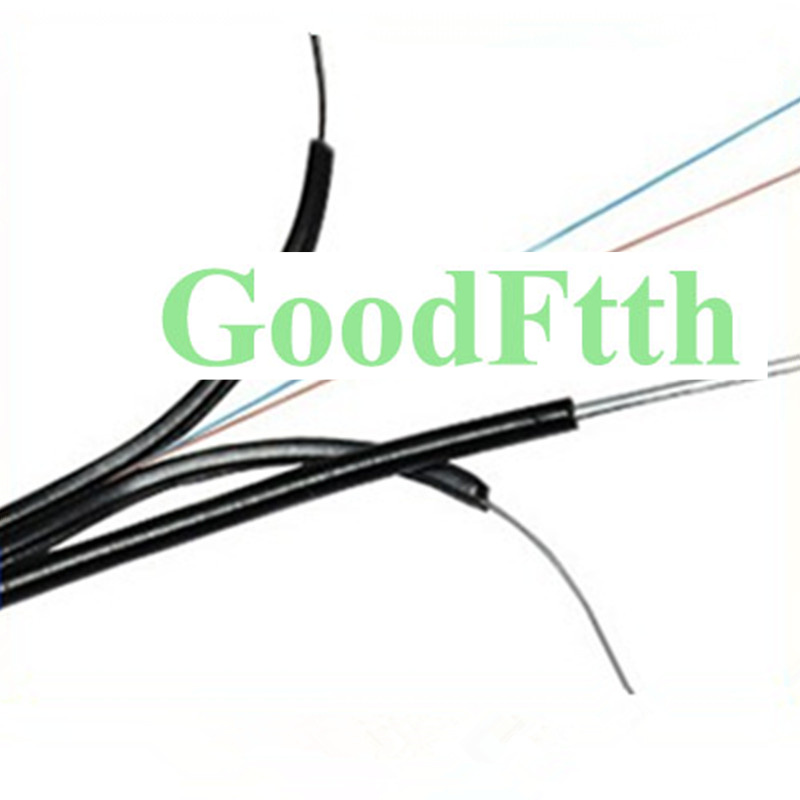 GoodFtth Optic Outdoor Self-support Drop Cable SM G657A 2 Core Black LSZH 5.0x2.0mm  1-5km