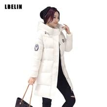 Women's Cotton-padded Jacket 2016 Long Parkas Women Winter Coat Thickening Cotton Womens Outwear Parkas for Women Basic Coats