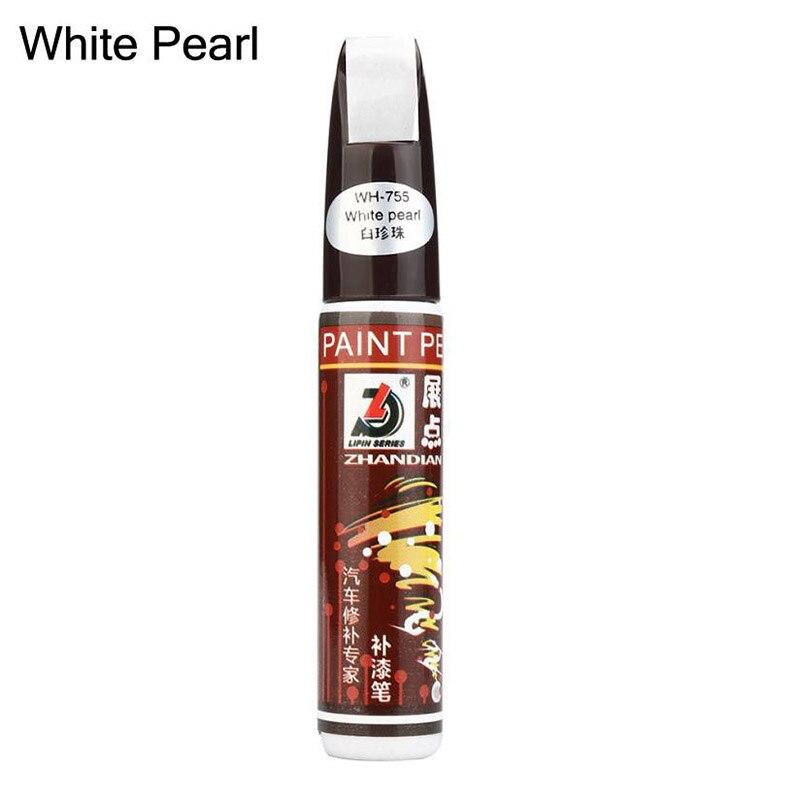 Для автомобильной краски, ручка, покрытие, защита от царапин, ремонт, аппликатор, нетоксичный, Прочный инструмент NJ88 - Цвет: Pearl White