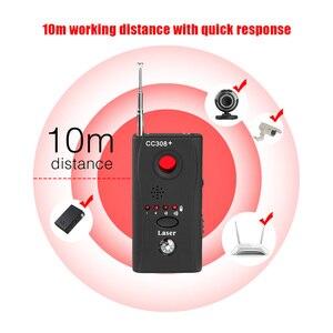 Image 2 - ET Đầy Đủ Chống Gián Điệp Lỗi Báo CC308 + Camera Không Dây Mini Ẩn Tín Hiệu GSM WiFi Bọ Máy Thăm Dò giám Sát Chống Gián Điệp