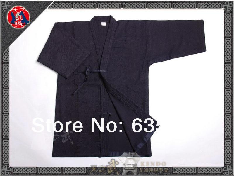 High Quality Kendo Iaido Aikido Gi Blue Red Martial Arts Uniform Sportswear   Dobok Free Shipping