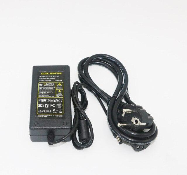 Adaptateur convertisseur de courant ca 12V 5A   1 pièce pour Imax B5 B6 chargeur, adaptateur dalimentation AC ue/UK  US/AU, pour choisir.
