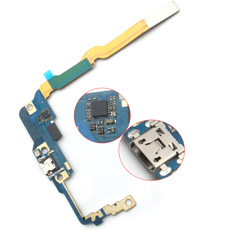 New Arrivals For LG Optimus G Pro 2 F350 D837 D838 USB Charger Port Dock Connector Flex Cable Replacement Parts