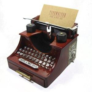 Vintage Plastic Typewriter Mod
