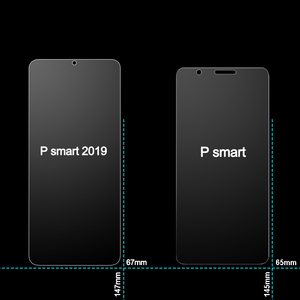 Image 5 - HOPELF 強化ガラス P スマート 2019 スクリーンプロテクター電話保護安全ガラス P スマート 2019 ガラス