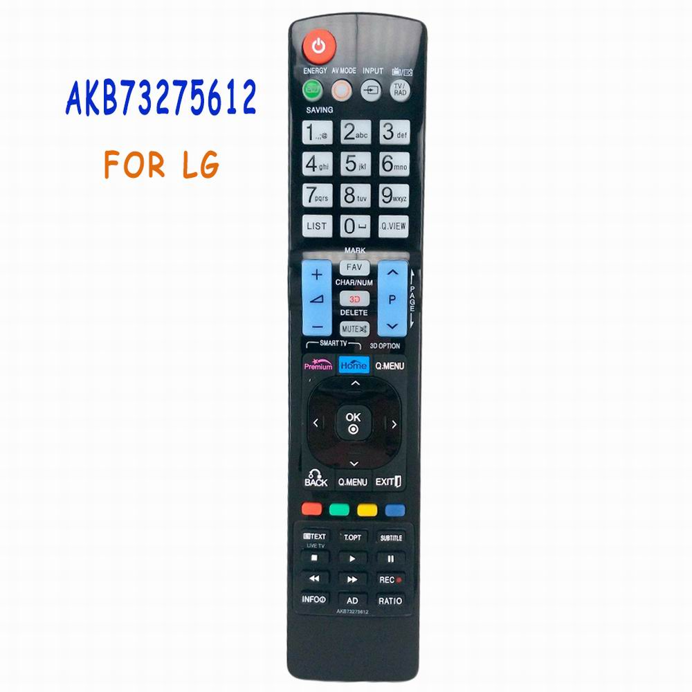 NEW Universal Replacement Remote Control AKB73275612 Fit For LG TV Smart 3D LED LCD HDTV TV AKB73275619 universal replacement remote control fit for vizio vp42 vp50 vm190vxt lcd led plasma hdtv tv