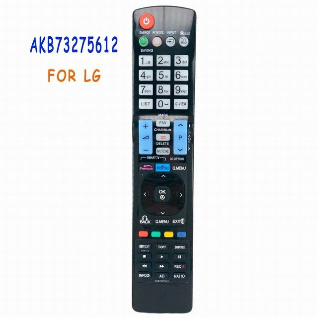 NEW Universal Replacement Remote Control AKB73275612 Fit For LG TV Smart 3D LED LCD HDTV TV AKB73275619 42LW573S 47LW575S