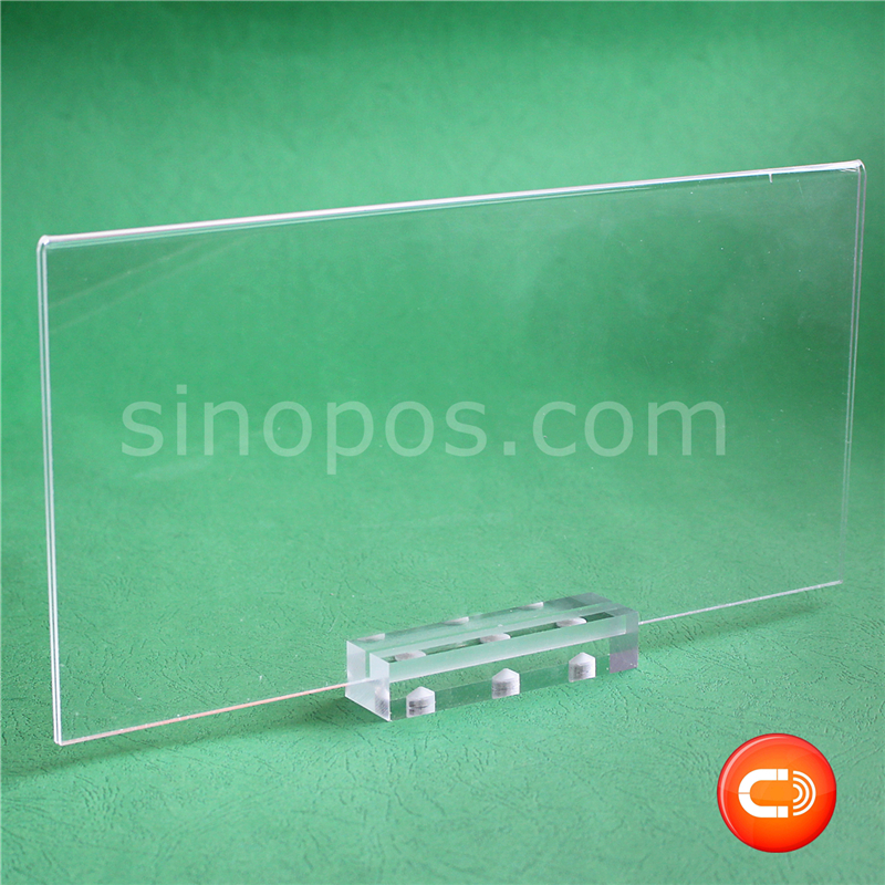 Card Holder & Note Holder Desk Accessories & Organizer Responsible Acrylic Tabletop Menu Display Stand Menu Holder Desk Sign Menu Counter Display Stand Acrylic Block Frame Picture Photo Frame Fine Quality