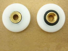 Free shipping  5x25x6mm Old shower fittings hardware roller wheels цена