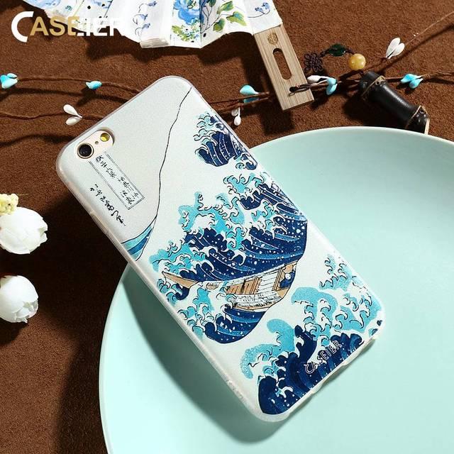 kanagawa coque iphone 8