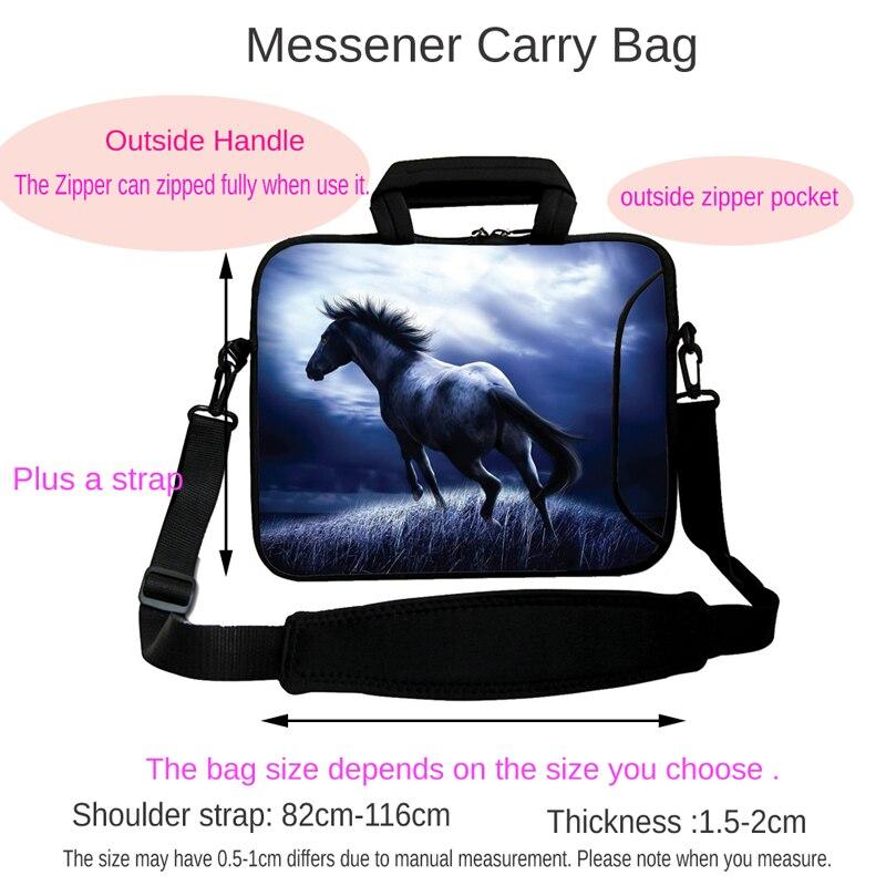 Viviration School Notebook Bag Shoulder Strap Handle 10 12 13 14 15 17 Laptop Computer Accessories Messenger Soft Bag Bolsas