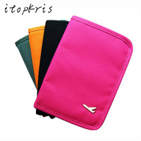 Women Men Passport Cover Case Travel Folder Multifunction Document Short Cover Tickets Bill Passport Card Holder