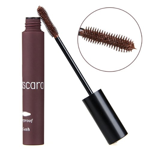 HHFF Mascara Eye Cosmetics Extension Waterproof Brown Mascara Make Up Party