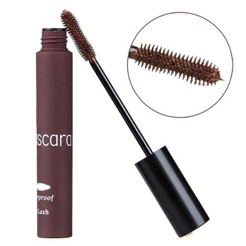 HHFF Mascara Eye Cosmetics Extension Waterproof Brown Mascara Make Up Party