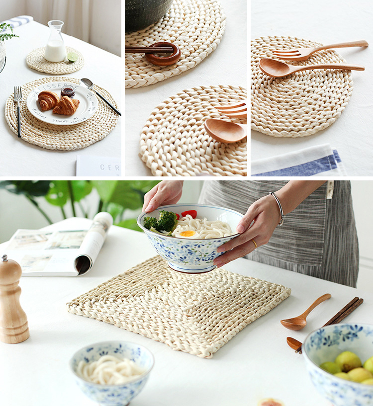 Japan-Cup-Pad-Holder-Placemat-Coffee-Drink-Coasters-Heat-Proof-Braided-Coaster-Mats-Pads-Corn-Bran-Table-Decoration-Accessories-09