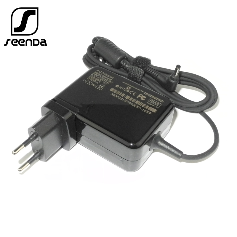 SeenDa <font><b>20v</b></font> <font><b>2.25A</b></font> 4.0*1.7mm <font><b>Laptop</b></font> <font><b>Power</b></font> Adapter Charger for <font><b>Lenovo</b></font> IdeaPad 100-15 B50-10 YOGA 510-14ISK Notebook <font><b>Power</b></font> Adapter image
