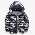 Children Jackets Winter Boys Coats Camouflage Down Jackets For Kids Girls A+++ 2-12 Years Children Clothing winter-clothing