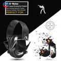 Анти-шум Влияние Спортивной Охоты Электронная Earmuff Съемки Тактические Защитные Наушники Peltor Защиты Органов Слуха Наушники