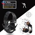 Anti-ruido de impacto deporte táctico caza electronic orejera disparo de protectores auditivos peltor orejeras de protección auditiva