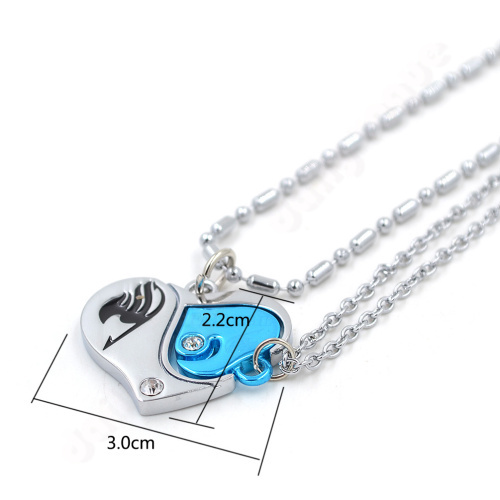 Lychee New Fashion Japan anime alloy alloy pendant necklace Fairy Tail charm necklace 6