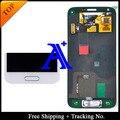 Бесплатная Доставка + 100% тестирование в Исходном Для Samsung Galaxy S5 mini G800 G800F ЖК Планшета Ассамблея с home button