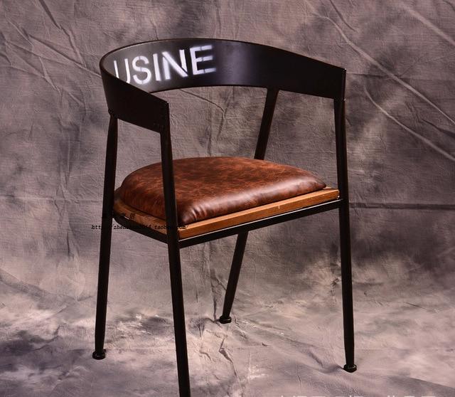 Vintage Stühle europäische mode freizeit stuhl café stuhl tun alten vintage stuhl