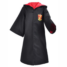Harry James Potter Cosplay  Gryffindor children Costumes Cloak Performing Halloween Costume Free Shipping