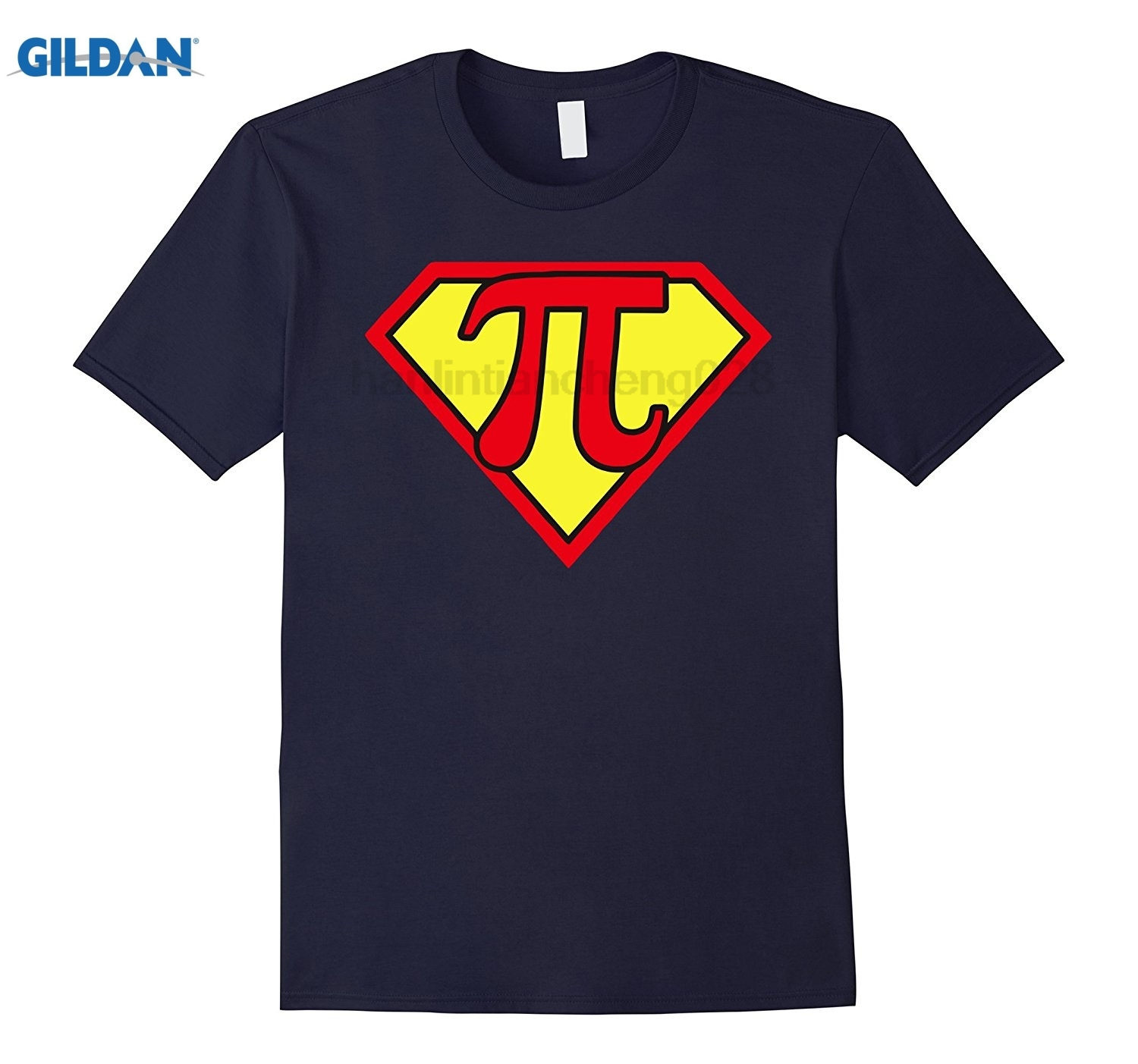 GILDAN Pi Day 2017 Funny Pi Superhero Style T-Shirts for Math Geeks