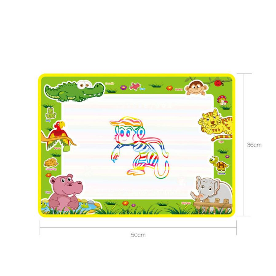 shaunyging # 4024 Water Drawing Painting Writing Mat Board Magic Pen Doodle Gift 50cmX36cm