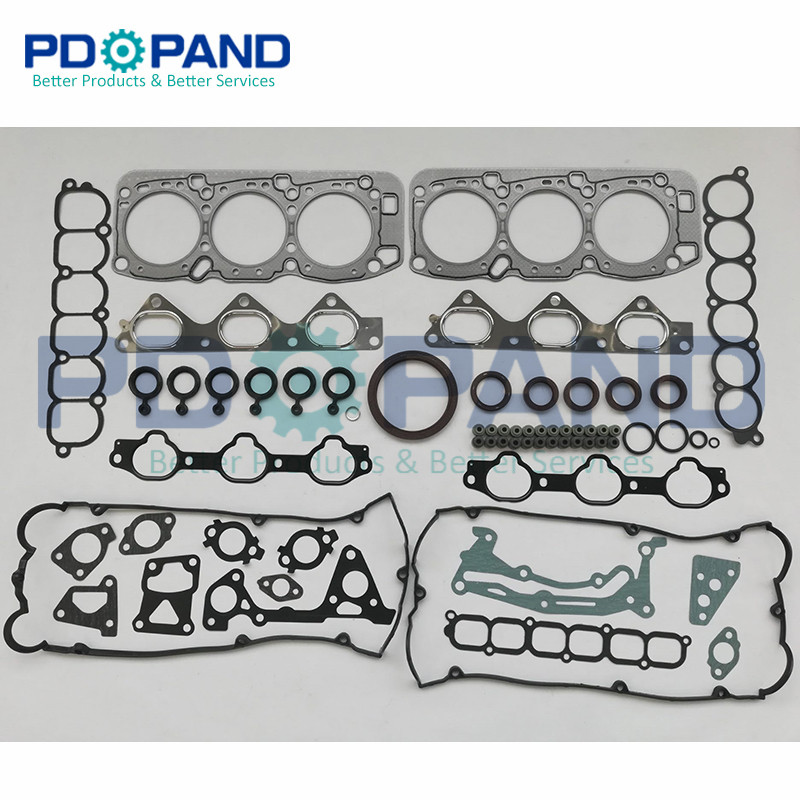 6G74 V45 Old Model Full Set Overhaul Rebuilding Gasket Kit MD972341 For Mitsubishi SHOGUN II 3.5 V6 24V 3497cc