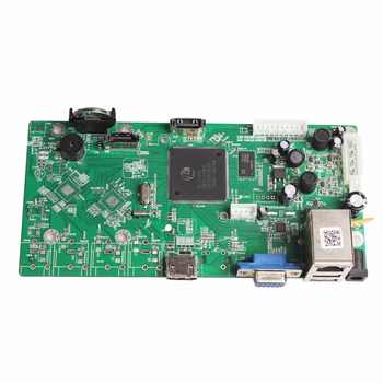 5MP CCTV NVR 16CH Board Face Detection H.265+ IP Video Recorder Module For 5MP IP Camera