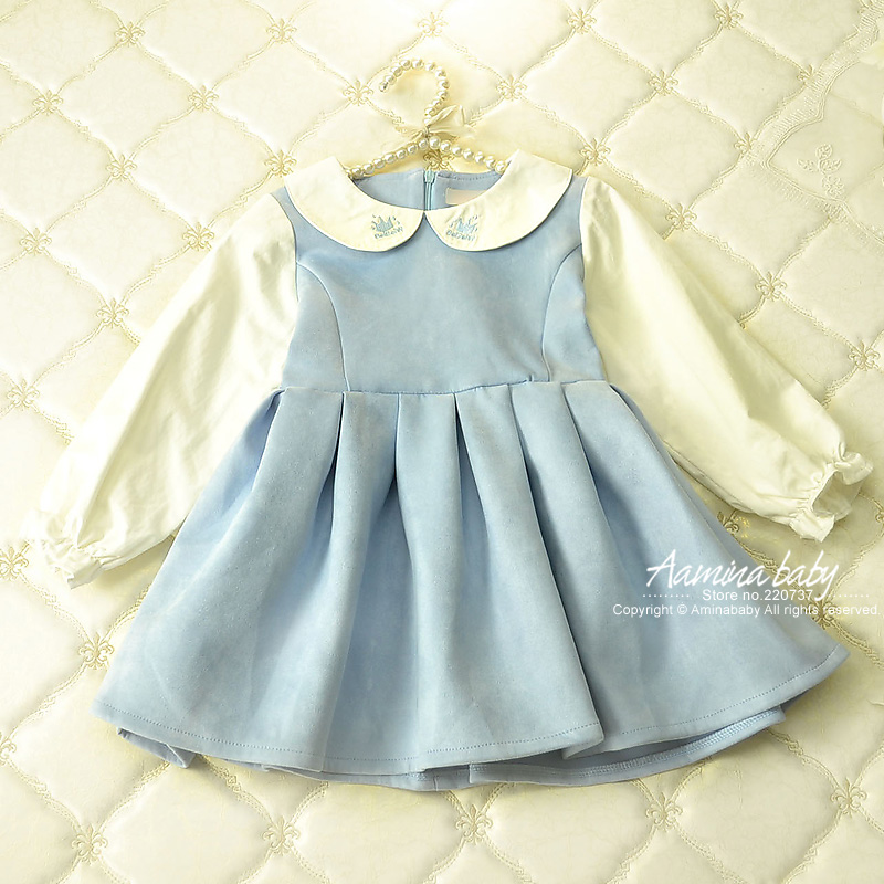 wholesale children clothing baby girl dress children long sleeve kids clothes casual princess girls dresses #1216 5pcs/lots high quality girls baby bright leaf long sleeve lace dress princess bud silk dresses children s clothing wholesale
