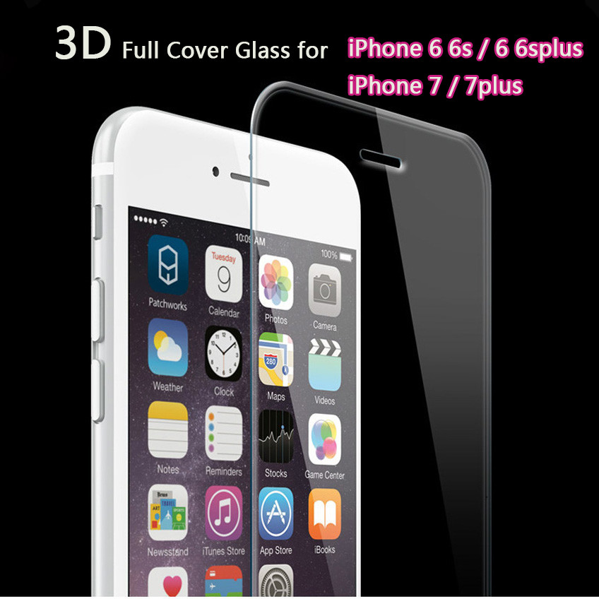 VOONGSON-Full-Cover-7G-Tempere4d-Glass-For-Apple-iPhone-7-6-6s-5S-SE-Plus-Premium