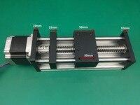 GGP ballscrews 1204 1605 1610 700mm Ball Screw Slide Rail Linear Motion Guide Moving Table+1pc Nema 23 motor 57 Stepper Motor