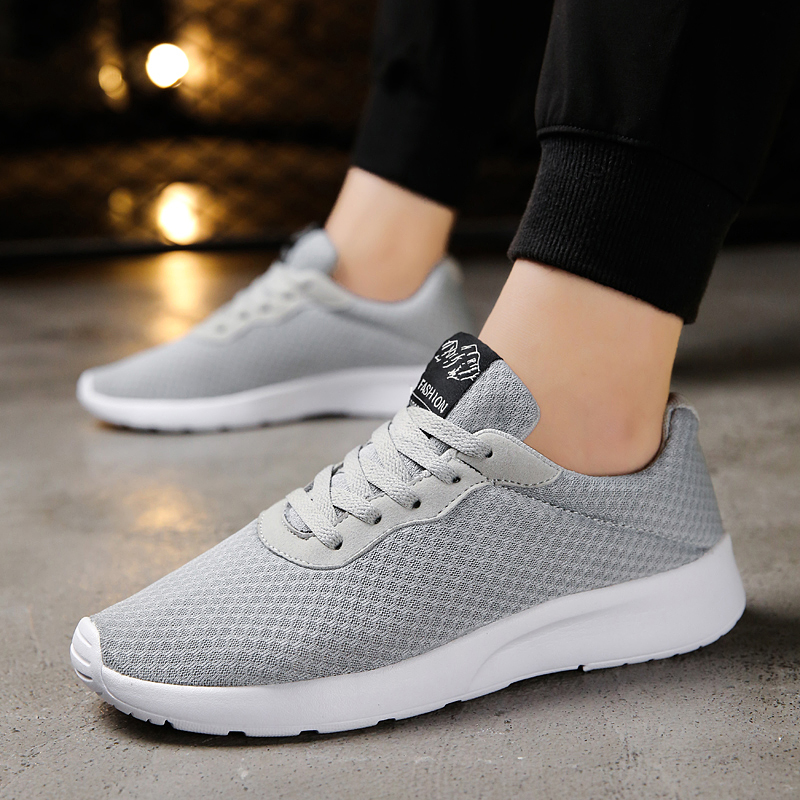 GUDERIAN New Big Size Men Shoes Fashion Casual Shoes For Men Lace Up Breathable Sneakers Men Shoes Trainers Chaussure Ete Homme in Men 39 s Casual Shoes from Shoes