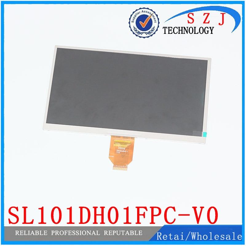 Original 10.1 inch LCD display screen digitize panel SL101DH01FPC-V0 for Ainol NUMY 3G AX10T Dual-Core LCD Screen Free shipping suo lixin t8 dual core communication 3g lcd display screen screen qc750bg1