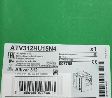 ATV312HU15N4 1.5KW new original boxedATV312HU15N4 1.5KW new original boxed