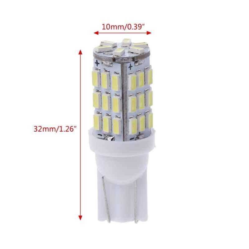 Super lumineux RV remorque T10 921 194 42-SMD 12V voiture sauvegarde inverse LED lumières lumière largeur lampe blanc voiture style
