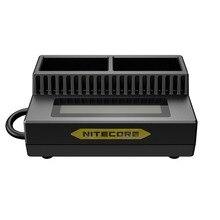 NITECORE UGP3 akıllı USB lcd ekran pil şarj cihazı GoPro HERO3/3 + AHDBT 302 301 201 pil taşınabilir aydınlatma aksesuarları