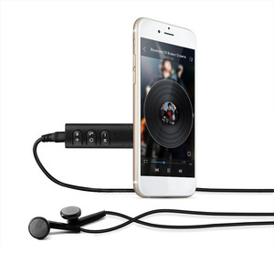 Image 3 - Antoksky 車の Bluetooth オーディオレシーバーハン自動キットミニ 3.5 ミリメートルジャック Aux 音楽オーディオワイヤレスアダプタレシーバーズキャンセルオーバーイヤービート