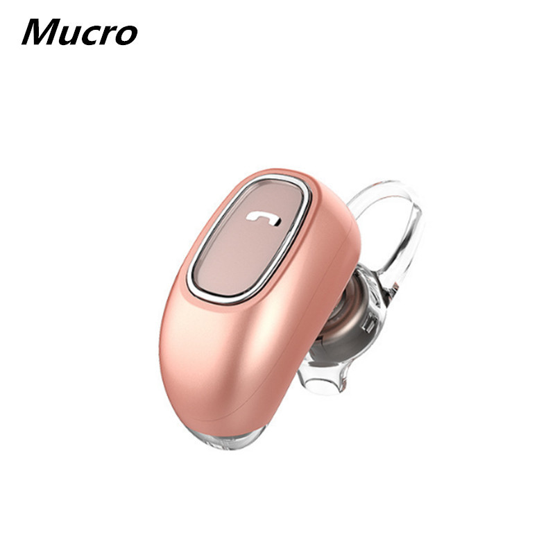Mucro M Bluetooth Headphones Noise Rduction Headphone Sport Wireless Bluetooth Earphone Bass With Mic In-Ear Headphone