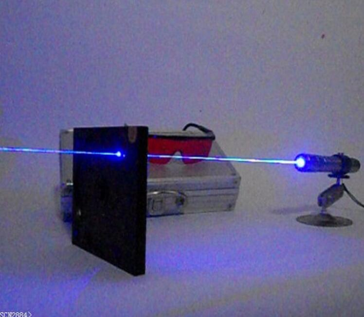 Most Powerful 100000m Blue Laser Pointer Laser Pen Aluminum alloy Lasers Bore Sighter Light cigarette + Charger + Box +glasses