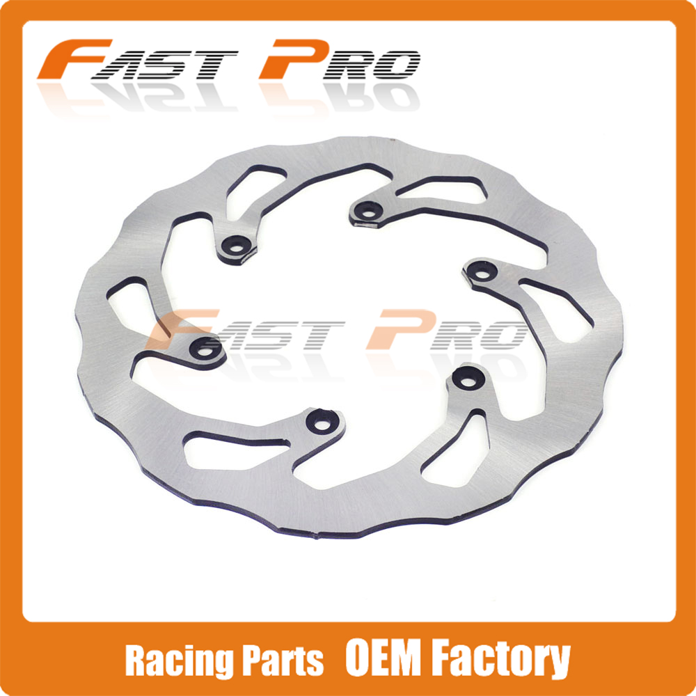 Motorcycle 240MM Rear Wavy Brake Disc Rotor For YAMAHA WR125 YZ125 WR250 YZ250 WR250F YZ250F WR426F YZ426F WR450F YZ450F