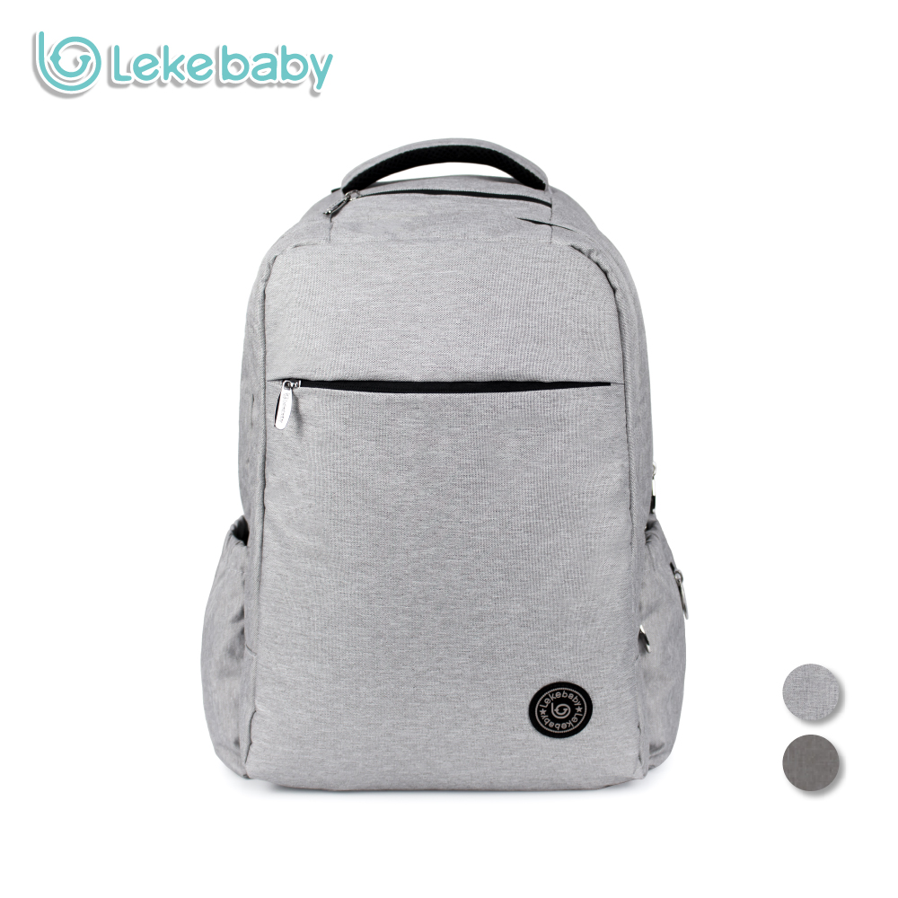 New Diaper bag Fashion nappy bag Dad bag Backpack Baby Care Double-layer Travel Bag for Baby Stroller