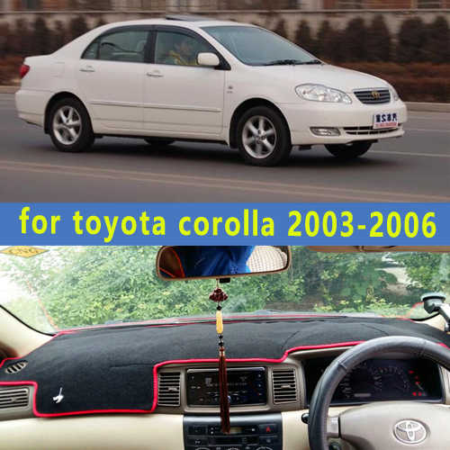 dashmats car-styling accessories dashboard cover  for toyota corolla 2003 2004 2005 2006