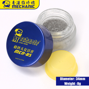 Image 5 - MECHANIC Soldering Tip Refresher Clean Paste for Oxide Solder Iron Tip Head Resurrection Cream Soldering Accessory